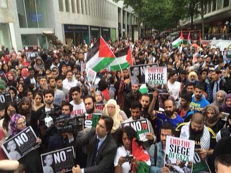 Birmingham protest