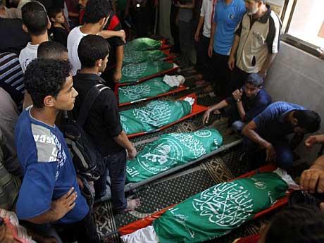 Five children killed in Gaza