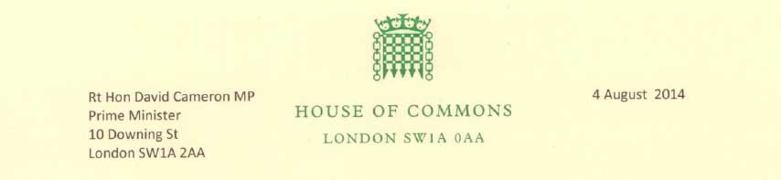 Commons notepaper
