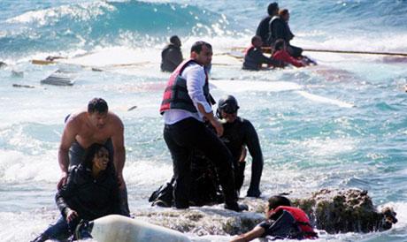 Rescuing boat migrants