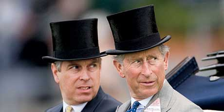 Prince Charles and his brother