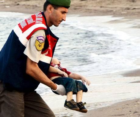 Refugee child drowned
