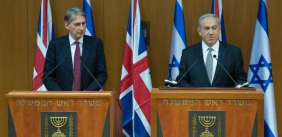 Philip Hammond meets Prime Minister Netanyahu 14545714799