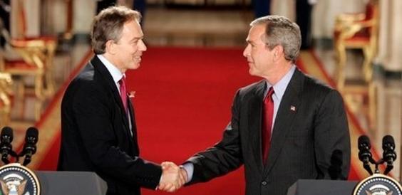 blair bush handshake