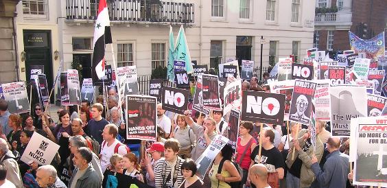 London Anti war demo 2005