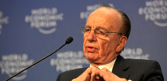 Rupert Murdoch World Economic Forum Annual Meeting Davos 2009